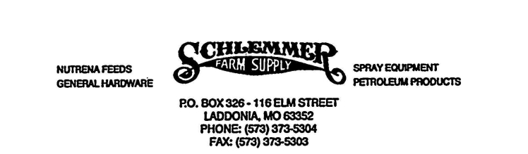 Schlemmer Supply Logo